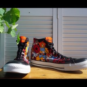 Limited Edition Thundercat X Converse High Tops